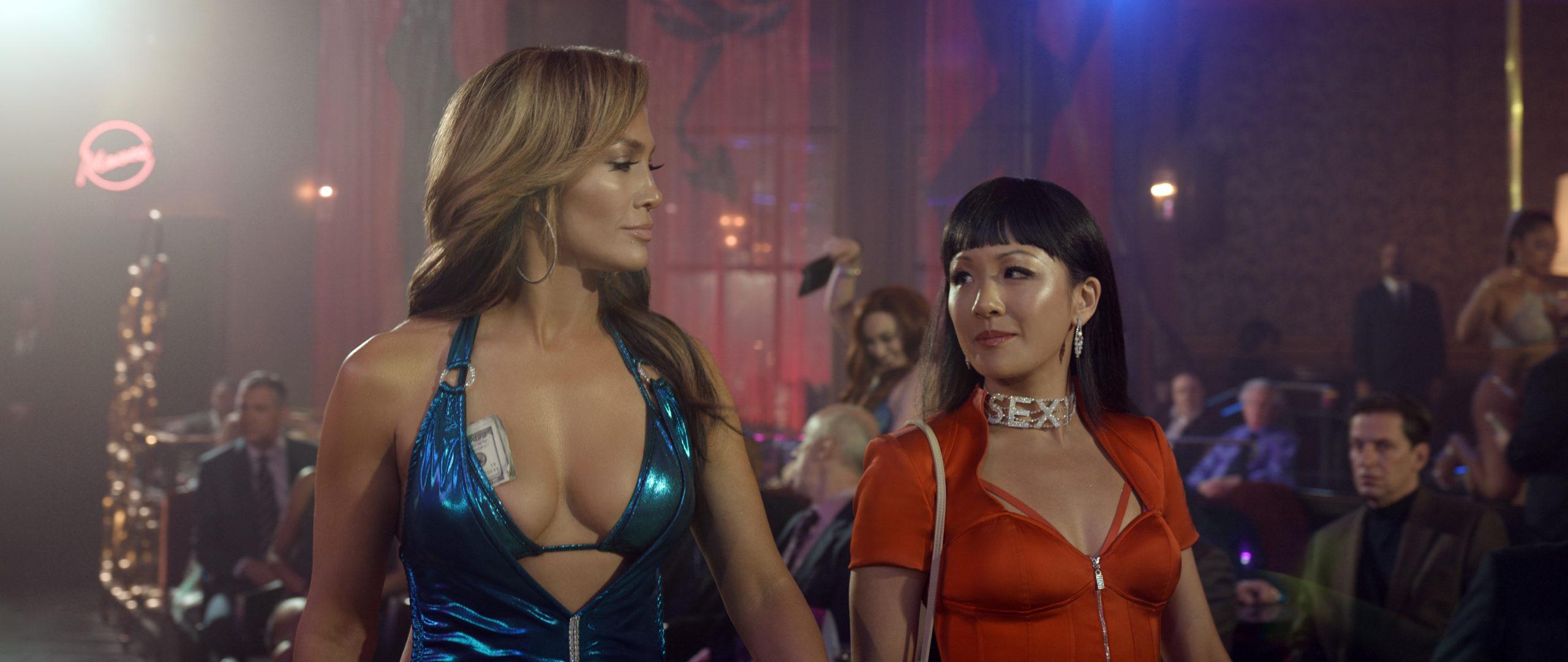 QUEENS HUSTLERS 2019 de Lorene Scafaria Jennifer Lopez Constance Wu. tire d une histoire vraie; based on a true story d